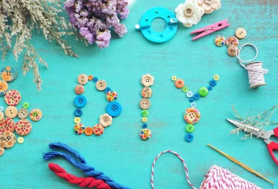 DIY aneb trojí využití dekoračních knoflíčků
