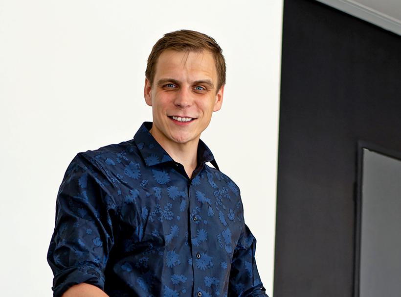 Mladý podnikatel získal investora k realizaci internetové aplikace Eventmat
