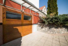 Design domu ovlivní i garážová vrata