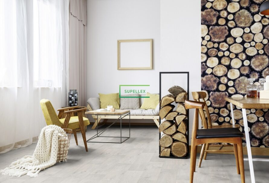 PVC podlahy Gerflor Designtime a Designtex jsou vhodné do všech prostor