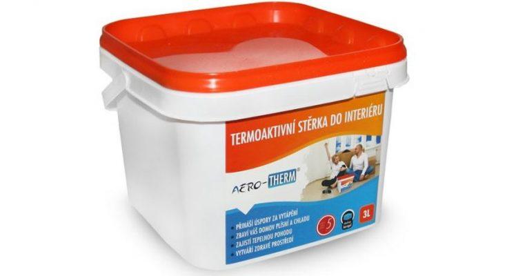 Izolujte zevnitř pomocí termoaktivních interiérových stěrek řady AERO-THERM®