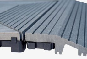 WPC dlaždice, terasová prkna a ploty jsou nenáročné na údržbu a dlouho vydrží