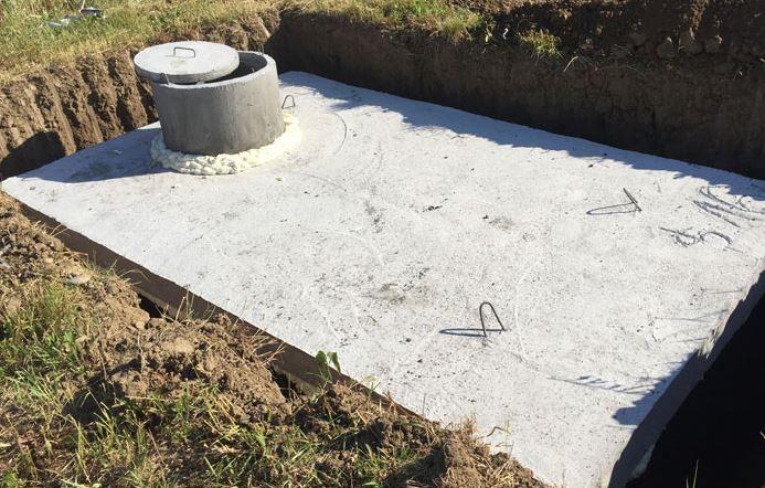 Nelámejte si hlavu s odpadní vodou, pořiďte si betonovou žumpu