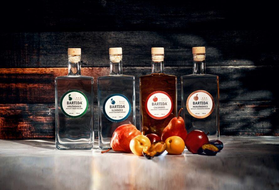 Bartida představuje legendární ovocné destiláty