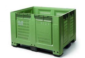 Plastové přepravky na ovoce a zeleninu
